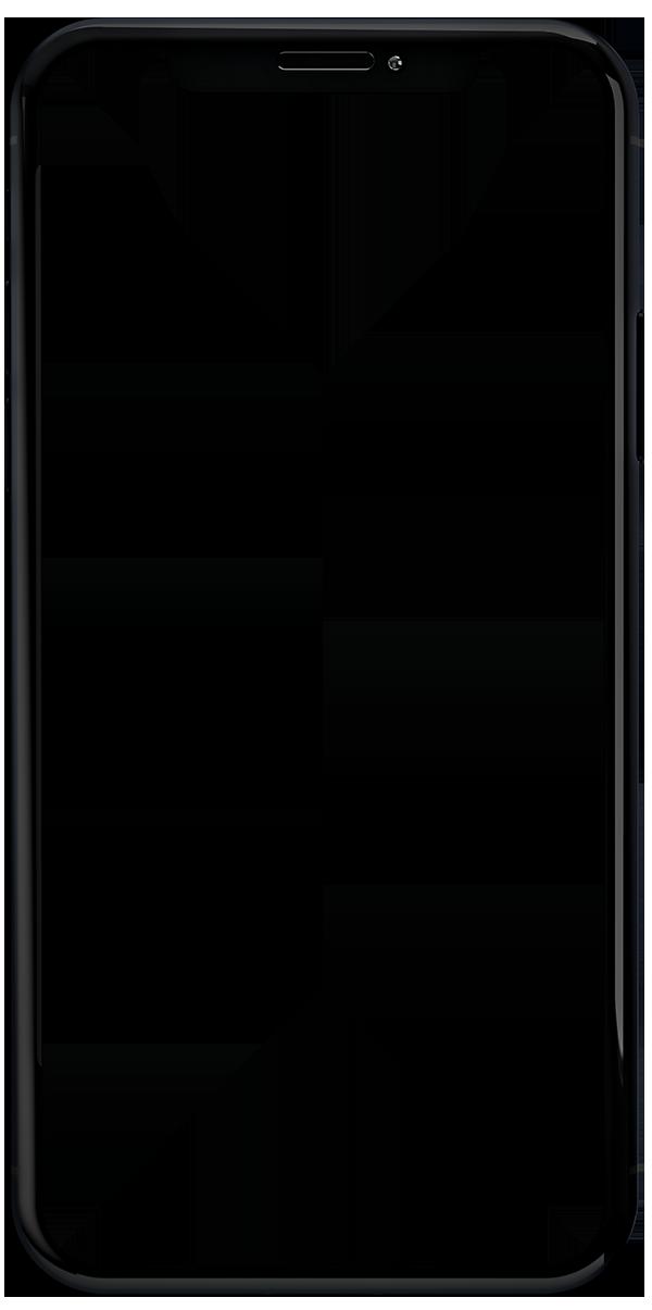 mobile silhouette